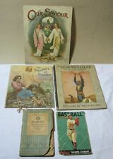 Baseball Rumford Dainties Draught of Fishes  Legend of Lilac Book Lot T*