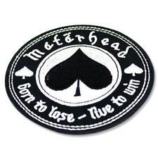 Patch Motorhead Woven Sew Iron Jacket Battle Embroidered Back Lemmy New 72 Ace
