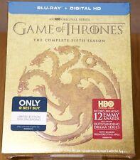Game of Thrones Season 5 Targaryen Best Buy Exclusive Blu Ray - New, Region Free