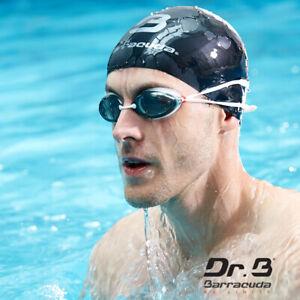 Barracuda Dr.B Myopia Swimming Goggles Anti-Fog UV Protection Adult #32295 White