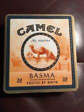 Camel Cigarette Tin Basma. Exotic by Birth