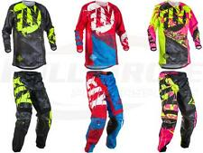 Fly Racing Kinetic Outlaw Jersey Pant Combo Set MX Riding Gear MX/ATV Motocross