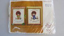 1981 CREATIVE CIRCLE #527 PATIENCE BOY embroidery stitchery kit