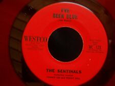 ZZ6 RED VINYL WESTCO 12 THE SENTINALS TOMMY LEE & KENNY HILL THE ROAD BEEN BLUE