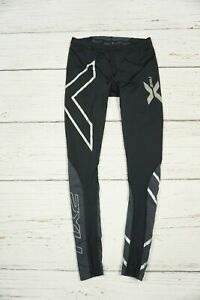 2XU ELITE Tights Compression Fitness Gym Leggings Running Bottom Women's Size L