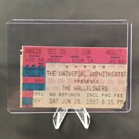 The Wallflowers Universal Amphitheatre CA Concert Ticket Stub Vintage June 1997