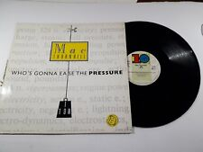 Disco Vinile 12'' Mc Thornhill Who's gonna ease the pressure 1988
