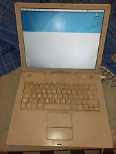 Apple Mac iBook G4 Laptop Notepad partly working - read for faults and issues