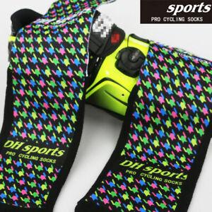 Pro Mens Womens XC Cycling Sports Ankle Socks MTB Road Riding Bicycle Bike Socks