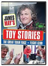 JAMES MAY 2011-2012 TOY STORIES Balsa Wood Glider + Great Train Race #2 R2/4 DVD