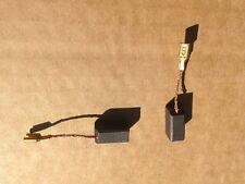 NUOVO Universale 2 x Spazzole in Carbonio 6mm x 8mm x 13.70mm Strumento Parti Filo al lato