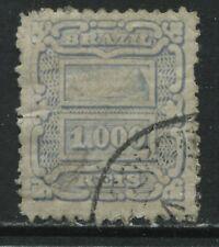 Brazil 1888 1000 reis pale blue used