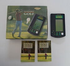 1996 Working MONTE CARLO TOURNAMENT GOLF Hand Held Game by RADICA In box R11634