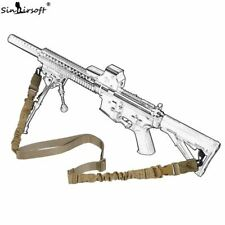 Military Tactical Two 2 Point Sling Adjustable Double Point Rope Lanyard  Rifle