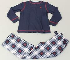 Pajamagram Youth's Personalized Snowfall Plaid Pajama Set SD8 Blue Size 8 NWT