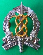 SOUTH AFRICA MILITARY POLICE PROVOST MP SCHOOL OLD vintage 2nd issue CAP BADGE