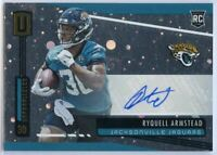 Ryquell Armstead Autograph Rookie Card #261 2019 Unparalleled Football Jaguars
