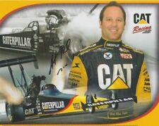 "2008 ""Hot Rod"" Fuller signed Caterpillar Dealer Careers Top Fuel NHRA postcard"