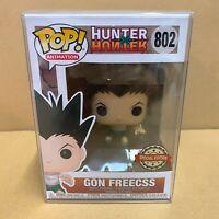 "Funko Pop X Hunter : GON FREECSS #802 Vinyl Special Exclusive ""MINT"""
