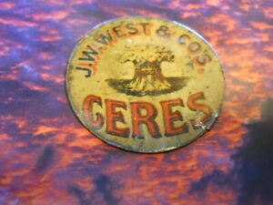 CERES BY J W WEST TOB. CO.
