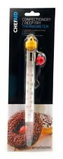 Chef Aid Glass Confectionery Thermometer Candy Chips Deep Frying Thermometer.