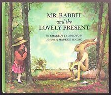 Vintage Children's Book MR. RABBIT AND THE LOVELY PRESENT Maurice Sendak HC