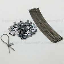 50 WIRE&FERRULES,SECURITY SEAL LEAD, METER SECURITY TAGS FOR TAXI/ELECTRIC BOXES