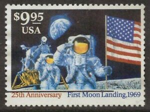 Scott #2842 Used Express Mail, First Moon Landing 1969