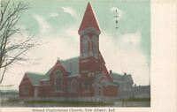 New Albany Indiana~Second Presbyterian Church 1910 Postcard