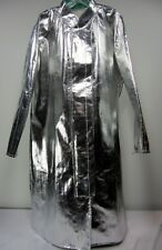 Ranpro Flame Guard Aluminized Protective Clothing Long Silver Coat Men's 2XL