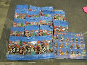 Lego 71024 Disney Series 2  Collectable Minifigures - Complete unopened set !