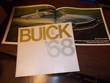 1968 Buick Deluxe Full-line Sales Catalog / Excellent To near-MINT condition