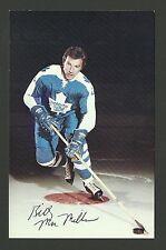 Billy MacMillan 1970s Toronto Maple Leafs Hockey Postcard