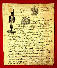 1815 SOLDATENBRIEF - Lettre de cantinière-  GRANDE-ARMÉE Napoleonische Kriege