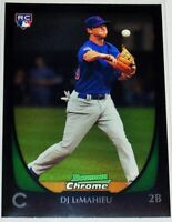 2011 BOWMAN CHROME #156 DJ LeMAHIEU DRAFT ROOKIE. NEW YORK YANKEES AL MVP? HOT!