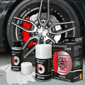 RED Brake Caliper Paint Kit SPORT Engine Bay Brakes Manifold heat resistant