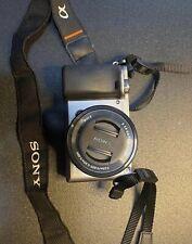Sony Alpha A6000 24.7 inch Mirrorless Digital Camera - Graphite (Full Set)