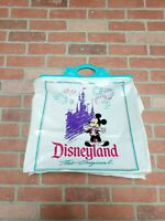 Vintage Disneyland Mickey Mouse The Original Plastic Shopping Bagwith Handles