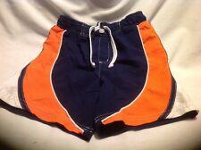 Circo Boys 3T Swimsuit Blue, Orange & White