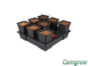 Wilma XL 8 Pot 11L - Complete Dripper System Hydroponics