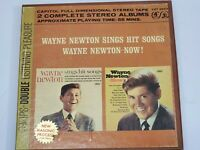 Wayne Newton Sings Hit Songs & Now Double Reel-to-reel tape  4 Track 3 3/4 IPS