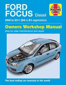 Ford Focus Diesel (05 - 11) 54 to 61 Haynes Repair Manual