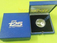 Malaysia KTM Silver Proof Coin  Rare