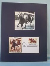 Great Race Horses - Seabiscuit vs.War Admiral & the First Day Cover of his stamp