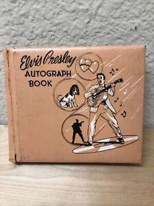 Original Rare Unused Elvis Presley 1956 EPE Autograph Book