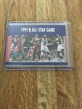 MICHAEL JORDAN 1991-92 Fleer All-Star Game #237 - -  Magic Robinson Ewing EX