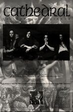 """22/5/93PGN32 CATHEDRAL : THE ETHEREAL MIRROR ADVERT 10X7"""" TOUR DATES"""