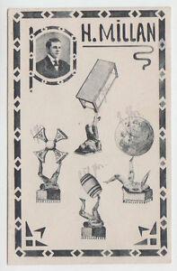 C6326 : Super 1920's Allemagne Millan Gymnastique Carte Postale
