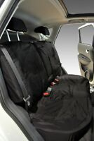 Nissan Qashqai Inka Fully Tailored Waterproof Rear Seat Covers Black MK 2 J11