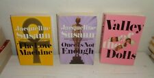 lot 3 Jacqueline Susann paperbacks Valley Of The Dolls Once Is Not Enough